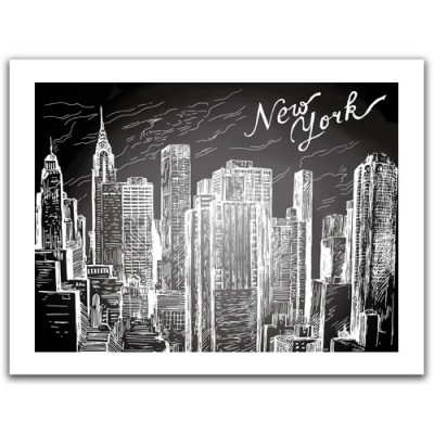Pintoo-H1525 Puzzle aus Kunststoff 300 Teile - New-York City
