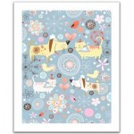 Pintoo-H1526 Puzzle aus Kunststoff - Cats & Dogs