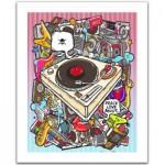 Pintoo-H1527 Puzzle aus Kunststoff - Rock Style