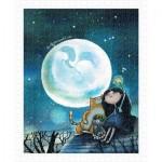 Pintoo-H1543 Puzzle aus Kunststoff - Starry Starry Night