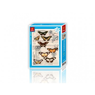 Pintoo-H1584 Puzzle aus Kunststoff - Schmetterlinge