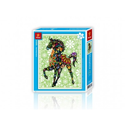 Pintoo-H1595 Puzzle aus Kunststoff - Pferd