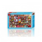 Pintoo-H1656 Puzzle aus Kunststoff - Das Labyrinth des Lebens