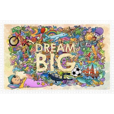 Pintoo-H1671 Puzzle aus Kunststoff - Dream Big