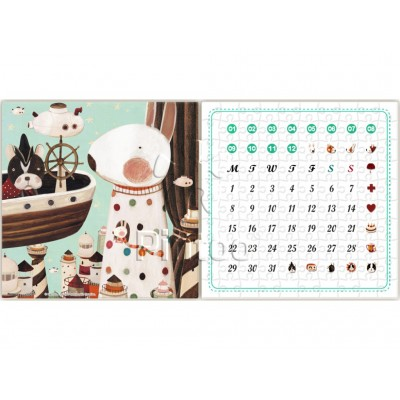 Pintoo-H1701 Puzzle-Kalender - Lighthouse