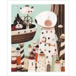 Pintoo-H1704 Puzzle aus Kunststoff - Nan Jun - Lighthouse