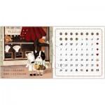 Pintoo-H1713 Puzzle-Kalender - Half