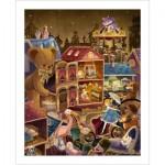 Pintoo-H1742 Puzzle aus Kunststoff - Alice im Wunderland
