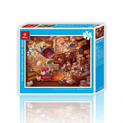 Pintoo-H1743 Puzzle aus Kunststoff - Alice im Wunderland