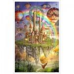 Pintoo-H1757 Puzzle aus Kunststoff - Ciro Marchetti - Tarot Town