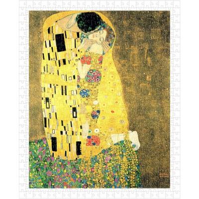 Pintoo-H1764 Puzzle aus Kunststoff - Klimt Gustav - The Kiss