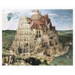 Pintoo-H1772 Puzzle aus Kunststoff - Brueghel Pieter - Tower of Babel, 1563