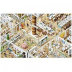 Pintoo-H1777 Puzzle aus Kunststoff - Smart - The Office
