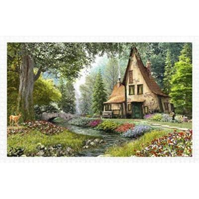 Pintoo-H1789 Puzzle aus Kunststoff - Cottage