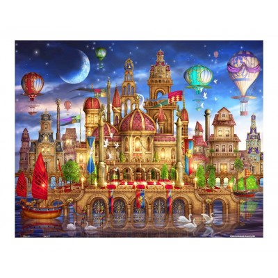 Pintoo-H1791 Puzzle aus Kunststoff - City Center