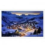 Pintoo-H1797 Puzzle aus Kunststoff - Französische Alpen