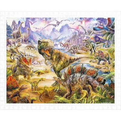Pintoo-H1919 Puzzle aus Kunststoff - Jan Patrik Krasny - Dinosaurs