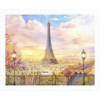 Pintoo-H1936 Puzzle aus Kunststoff - Romantic Paris