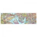 Pintoo-H1954 Puzzle aus Kunststoff - Tom Parker - Dino City and Bay