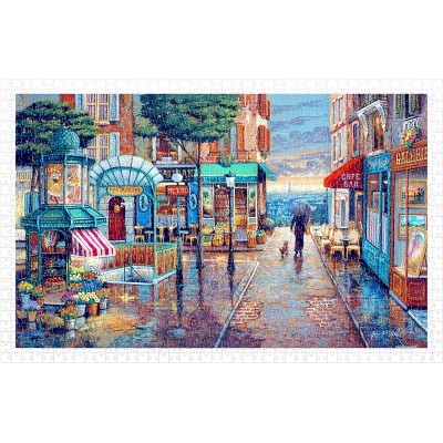 Pintoo-H1985 Puzzle aus Kunststoff - John O'Brien - Rainy Day Stroll