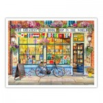 Pintoo-H1994 Puzzle aus Kunststoff - Garry Walton - Greatest Bookshop In The World
