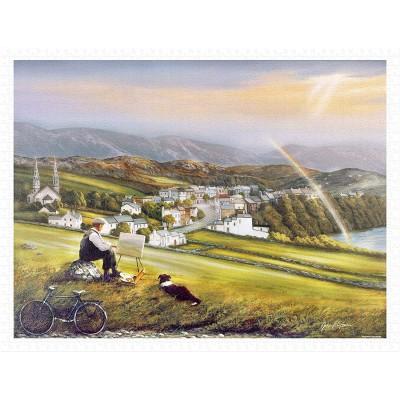 Pintoo-H2015 Puzzle aus Kunststoff - John O'Brien - Irish Landscape