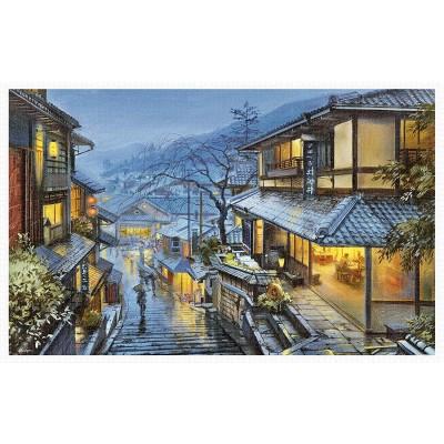 Pintoo-H2041 Puzzle aus Kunststoff - Evgeny Lushpin - Old Kyoto