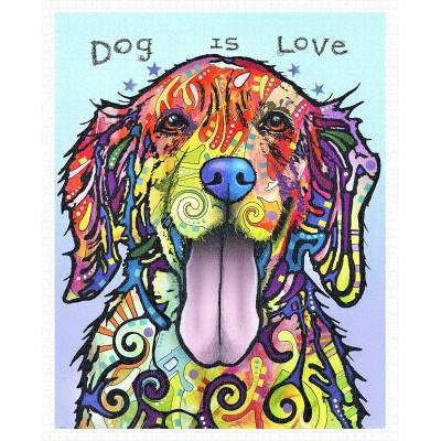 Pintoo-H2045 Puzzle aus Kunststoff - Dean Russo - Dog Is Love