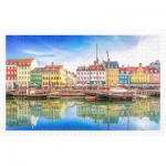 Pintoo-H2046 Puzzle aus Kunststoff - Old Nyhavn Port in Copenhagen