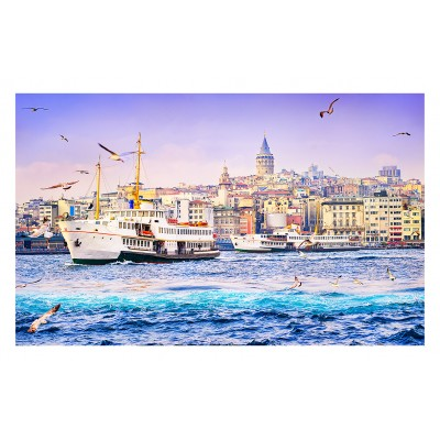 Puzzle  Pintoo-H2050 Golden Horn, Turkey