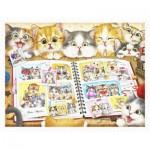 Pintoo-H2051 Puzzle aus Kunststoff - Kayomi - Kitten Memory Album