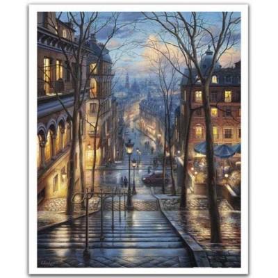 Pintoo-H2058 Puzzle aus Kunststoff - Evgeny Lushpin - Montmartre Spring
