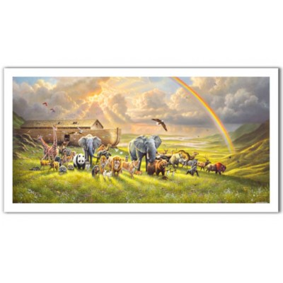 Pintoo-H2061 Puzzle aus Kunststoff - Abraham Hunter - New Beginning