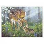 Pintoo-H2067 Puzzle aus Kunststoff - Abraham Hunter - Forest Friends