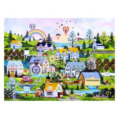 Pintoo-H2069 Puzzle aus Kunststoff - Jane Wooster Scott - Somewhere Over the Rainbow