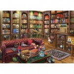 Pintoo-H2084 Puzzle aus Kunststoff - Eduard - Ye Olde Bookshop