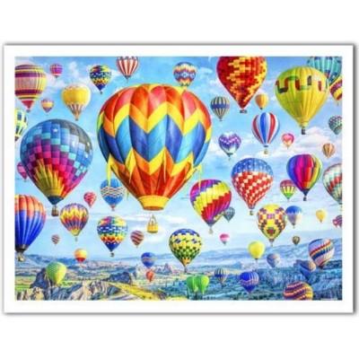 Pintoo-H2085 Puzzle aus Kunststoff - Lars Stewart - Hot Air Balloon Festival