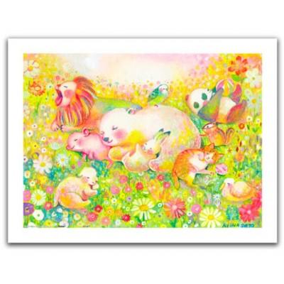 Pintoo-H2110 Puzzle aus Kunststoff - Reina Sato - Sweet Dreams