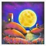 Pintoo-H2132 Puzzle aus Kunststoff - Darren Mundy - Golden Moon River