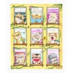 Pintoo-H2140 Puzzle aus Kunststoff - Kayomi - Kittens' Morning Routine