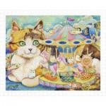 Pintoo-H2152 Puzzle aus Kunststoff - Cotton Lion - Merry-Go-Round