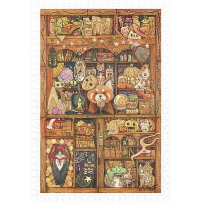 Puzzle  Pintoo-H2240 Cotton Lion - Coon Magic House