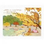 Puzzle  Pintoo-H2308 Mandie - Autumn Picnic Under The Maple
