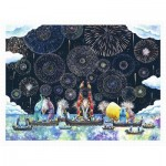 Puzzle  Pintoo-H2320 Yosi - Colorful Night