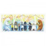 Puzzle  Pintoo-H2332 Yosi - Happy Dining Table