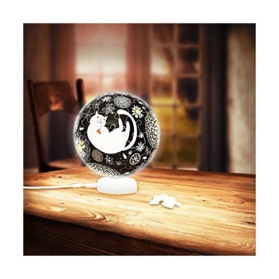 Pintoo-J1020 3D Puzzle - Sphere Light - Dream Cat