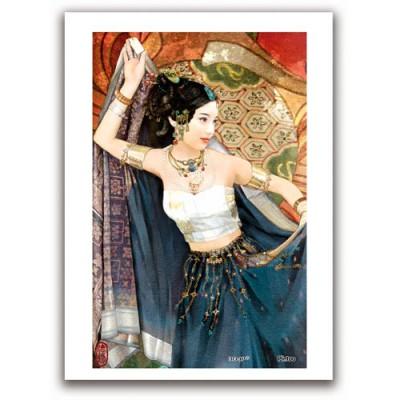 Pintoo-M1089 Puzzle aus Kunststoff 40 Teile - Der Jen: Tanzende Frau