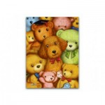 Pintoo-P1007 Puzzle aus Kunststoff - Teddy Bears
