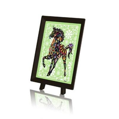 Pintoo-P1126 Puzzle aus Kunststoff - Pferd