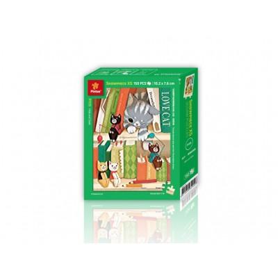 Pintoo-P1135 Puzzle aus Kunststoff - Love Cat